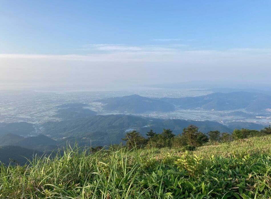 天山からの景色
